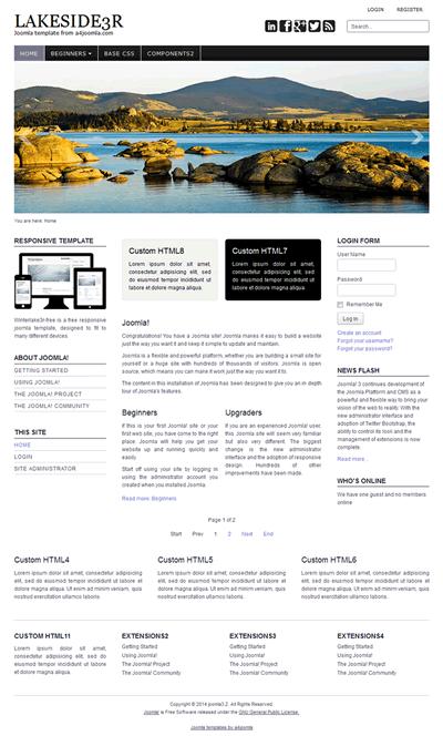 professional and free joomla templates a4joomla responsive professional joomla 3 3 6 template a4joomla