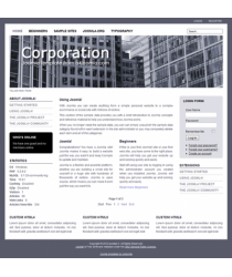 Pro joomla 2.5 template: a4joomla-Corporation